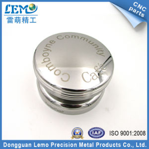 CNC Turned Parts with Mirror Polished for Coffee Tamper (LM-200M) pictures & photos