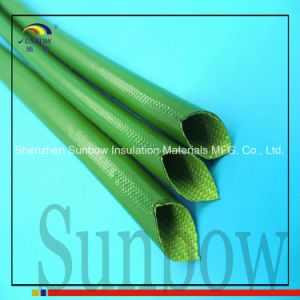 Sunbow 2mm Silicon Fiber Glass Insulated Tube Sleeving UL 1500V pictures & photos