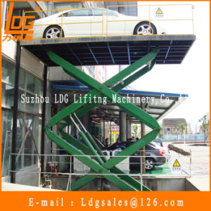 3ton Stationary Scissor Hydraulic Car Lift (SJG3-6) pictures & photos