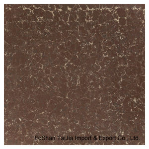 600X600mm Building Materials Red Pilate Polished Porcelain Floor Tile (TJ6206) pictures & photos