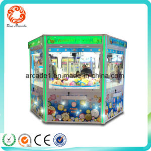 Coin Operated Claw Candy Vending Kids Game Machine pictures & photos