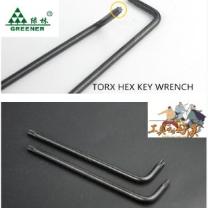 Single Matt Finish Long Ball Point Hex Key pictures & photos