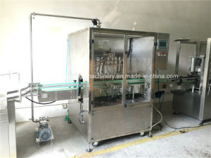 Fully Automatic High Class Stainless Steel Liquid Filling Machine pictures & photos