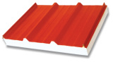 Beautiful Corrugated Steel Roofing EPS Panel for Steel Workshop pictures & photos