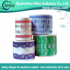Soft Diaper Backsheet Film for Baby Diaper Raw Materials pictures & photos