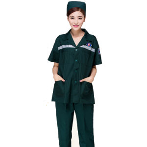 Factory Customized High Quality Hospital Scrubs Garments Wear Supplierv pictures & photos