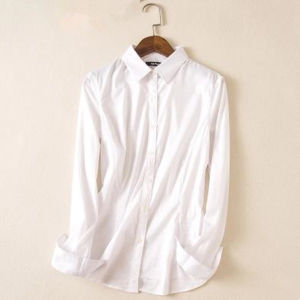 Woven Dyed Spandex Nylon Cotton Satin Fabric for Shirt pictures & photos