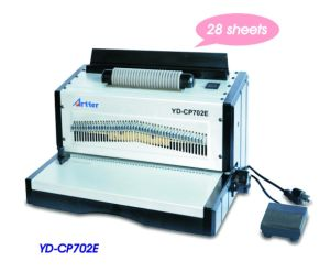 Electric Coil Binding Machine (YD-CP702E) pictures & photos