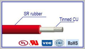 High Temperature Resistant High Voltage Silicone Rubber Cable pictures & photos