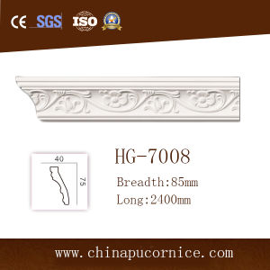 8.5cm Light Weight PU Cornice Moulding pictures & photos