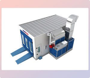 Professional Cross Flow Spray Paint Booth Downdraft for Sale pictures & photos