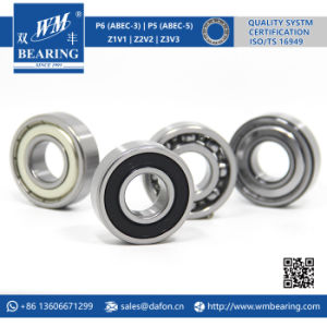 6204 2RS Low Friction Sealed Deep Groove Ball Bearing pictures & photos