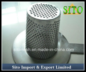 Perforated Sainless 304 316 Steel Mesh Strainer pictures & photos