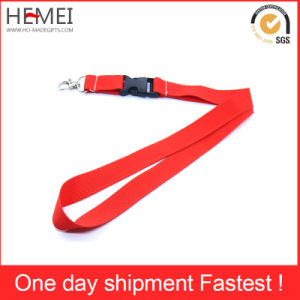 Polyester Lanyard Woven Lanyard with Customized Logo and Color pictures & photos