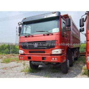 Camion Occasion Benne 8X4 De Marque HOWO pictures & photos