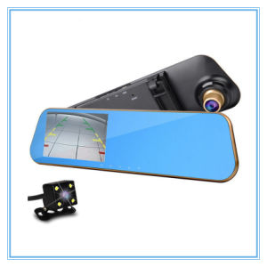 FHD 1080P WiFi Video Recorder, Rearview Mirror with Dual Lens pictures & photos