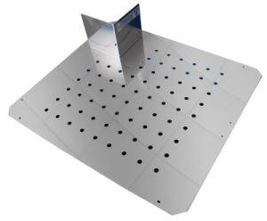 Laser Cutting Manufacturer/Metal Plate Fixing/Galvanized Sheet Metal Parts/Metal Sheet Fabrication pictures & photos
