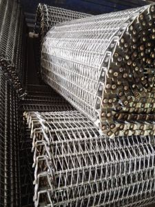 Stainless Steel Mesh Belt for Food Cooling Conveyor pictures & photos