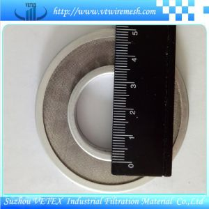 Stainless Steel Woven Wire Mesh Filter Disc pictures & photos