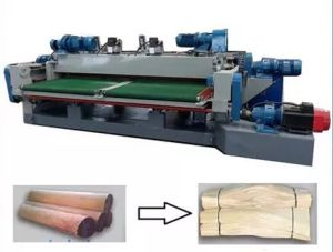 4 Feet Wood Veneer Rotary Peeling Cutting Lathe Machine pictures & photos