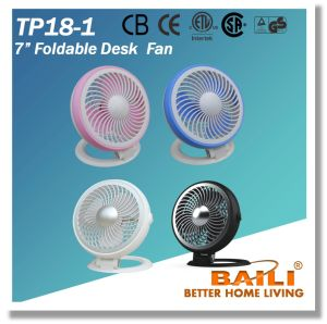 """7"""" Foldable Desk Fan with Single Speed pictures & photos"""