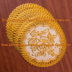 PVC Gilding Cup Mat Making Machinery Mat
