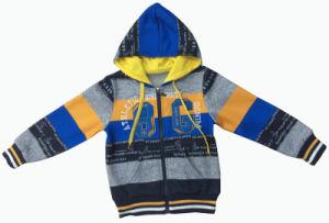 Men/ Boy Hoody Cardigan fashion Stripe