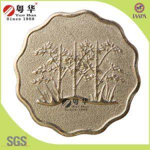 Euro Coin Size Quincunx Token pictures & photos