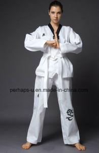 High Quality Taekwondo Uniforms with Custom Logo pictures & photos