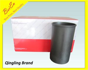 Qingling Cylinder Liner for Isuzu Excavator Engine 4HK1 pictures & photos