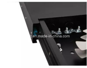 24 Port Slidable Rack Mounted Optic Fiber Patch Panel pictures & photos