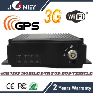 GPS WiFi 3G Mobile Car DVR, H. 264 720p HD DVR for Bus /Truck /Taxi /Vehicle pictures & photos