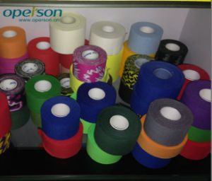 Disposable Cotton Fabric Adhesive Sports Tape pictures & photos