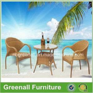 Used Cafe Chair Outdoor Wicker Rattan Furniture pictures & photos