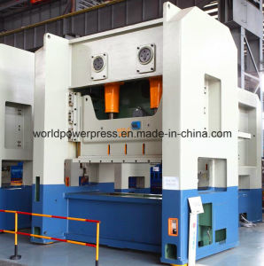 Double Crank Straight Side Automatic Power Press Machine pictures & photos