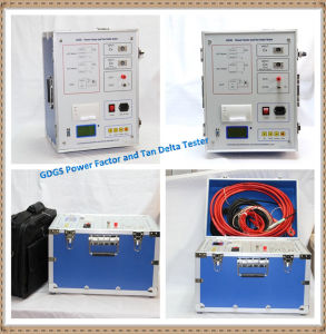 High Precision Capacitance and Tan Delta Measuring Bridge Digital Tester / Tan Delta Tester pictures & photos