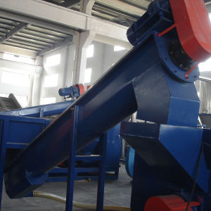 300kg/H Waste PP PE Film and Bags Recycling Crushing Washing and Drying Line pictures & photos