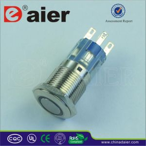 12volt LED Illuminated Push Button Switch, Electrical Switch (LAS1-16F-11E) pictures & photos