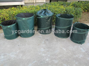 Pop up Garden Bag with Watse Garden Bin Garden Leaf Bag