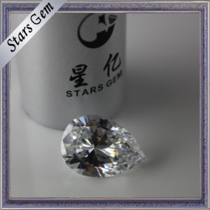 Excellent Brilliant Diamond Cut Cubic Zirconia for Fashin Jewelry pictures & photos