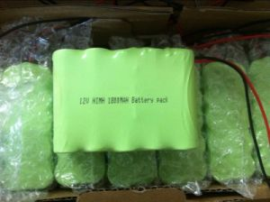 12V 1800mAh NiMH Battery Pack pictures & photos