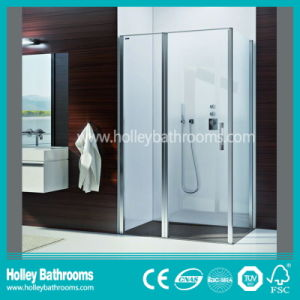 Hot Selling Hinger Shower Enclosure Mounted on Floor (SE305N) pictures & photos