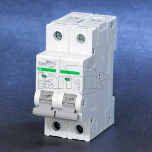 2p DC Circuit Breaker Non Polarized DC Breaker with TUV Certificates From 1A to 63A pictures & photos