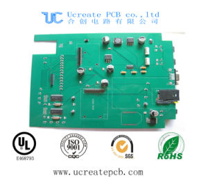 Laptop Main Board Electronics PCBA with Green Solder Mask pictures & photos