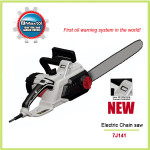 Electric Chain Saw with Low Oil Warning System 7j141
