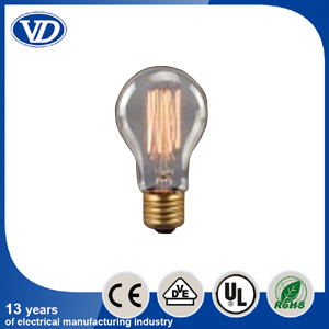Carbon Filament Incandescent Edison Light Bulb A19 pictures & photos