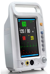 Medical Equipment Price of Portable Vital Signs Patient Monitor pictures & photos