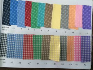 Fashion Check DOT Micro Fibre Fabric Necktie pictures & photos