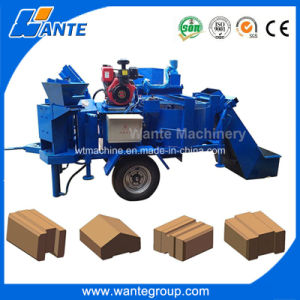 Wt2-20m Double Press Soil Interlocking Brick Machine Price pictures & photos