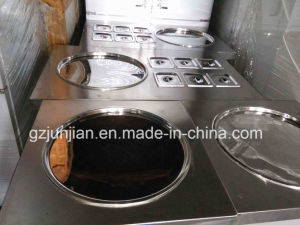 Stainless Steel Fried Ice Machine pictures & photos
